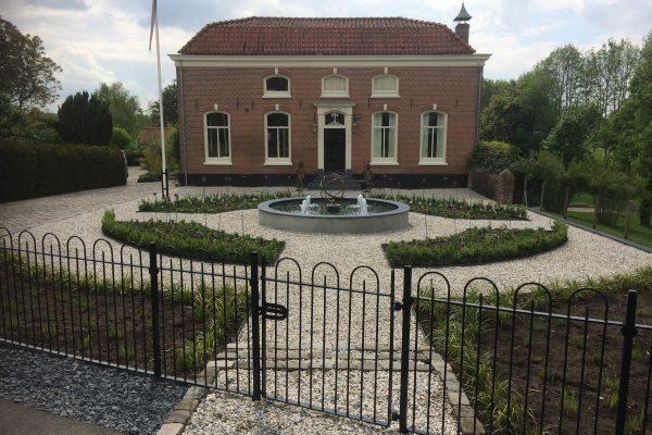 Landelijke tuin bij villa in Rumpt